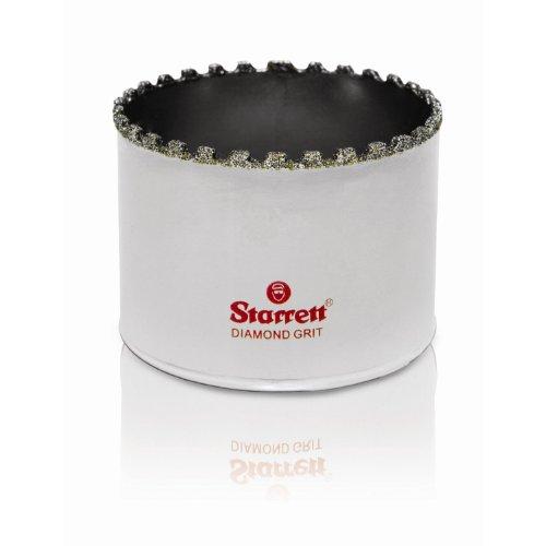 Starrett D0214 Scie cloche diamant céramique et matériaux abrasifs Tige 57 mm Diamètre 53-102 mm