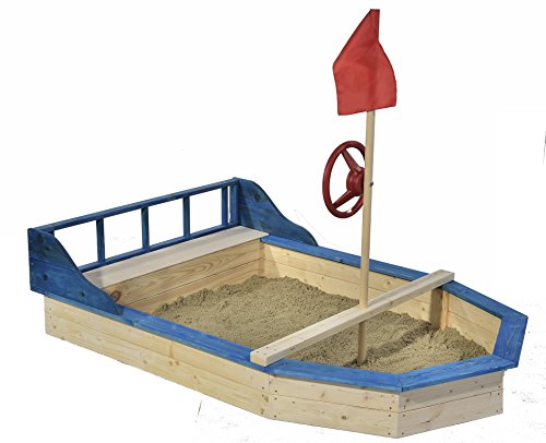 GASPO Piratenboot-Sandkasten