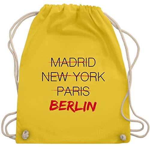 Städte - Weltstadt Berlin - Unisize - Gelb - WM110 - Turnbeutel & Gym Bag