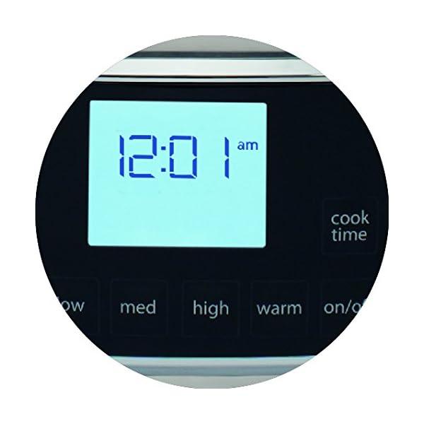 Electrolux ESC7400 Slow Cooker, Pentola Elettrica in Ceramica, Timer, 235 W, 6.8 Litri, 0 Decibel, Acciaio Inox, Argento 2 spesavip