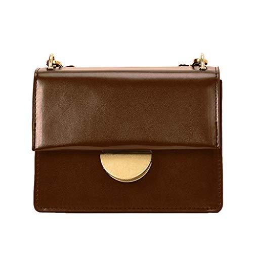 squarex ® 2019 Ledertasche Casual Wild Bag Schultertasche Umhängetasche Reisetasche Handtasche Damen Einfache Tasche