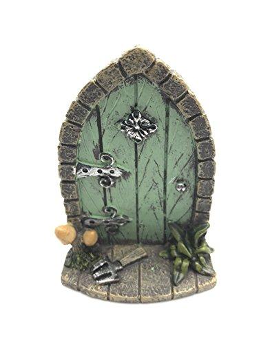 Décoration miniature originale et sympa en forme de porte de lutins / fée / elfes pour arbre de jardin ou maison, hauteur 9cm