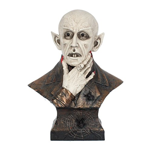 Vampir Dracula Büste Figur Nosferatu Horror Halloween Gothic Nemesis Now NN07 (Vampire Büste)