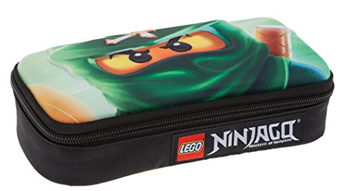Lego - Ninjago Schüleretui / Federtasche / 3 D Pencil Case - Lloyd green