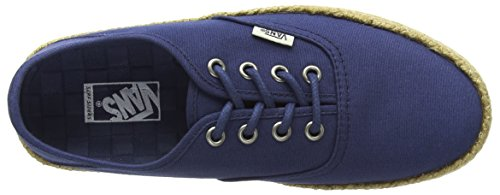 Vans Authentic Esp, Baskets Basses Femme Bleu (Ensign Blue)