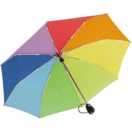 iX-brella Supermini Paragua plegable Multicolor arcoiris 95 cm