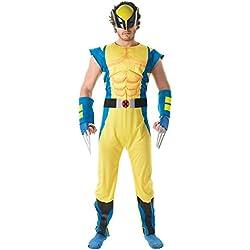 Rubie 's oficial Marvel Lobezno Deluxe, disfraz para adultos–tamaño estándar