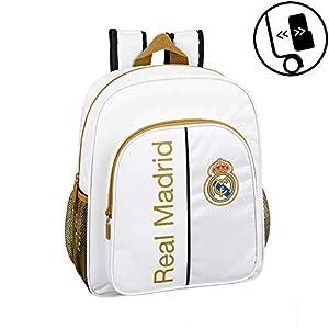 41oR4MF0ucL. SS300  - Real Madrid CF niños Equipaje, Blanco, Talla Única