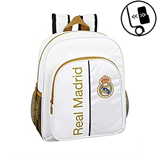 41oR4MF0ucL. SS324  - + Real Madrid CF Mochila Junior niño Adaptable Carro Real Madrid CF Mochila Junior niño Adaptable Carro Real Madrid CF Mochila Junior niño Adaptable Carro