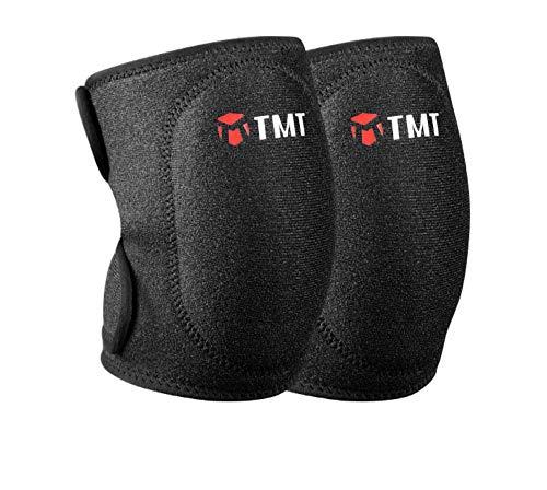 (MFHYSJ Tanzen Knieschützer Knie Warm Fallschirm Volleyball Yoga Ausrüstung Kinder Sport Sicherheit Knie (27-43 cm))