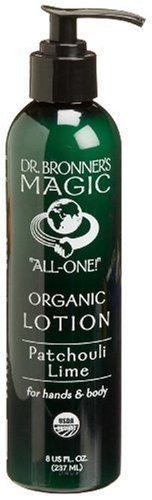 Dr. Bronners & alles eine Organisch Lotion für die Hände & Körper, Patchouli Limette, 8-Unzen Pumpe Flaschen (Packung von 2) Von Dr. Bronners [Beauty] -