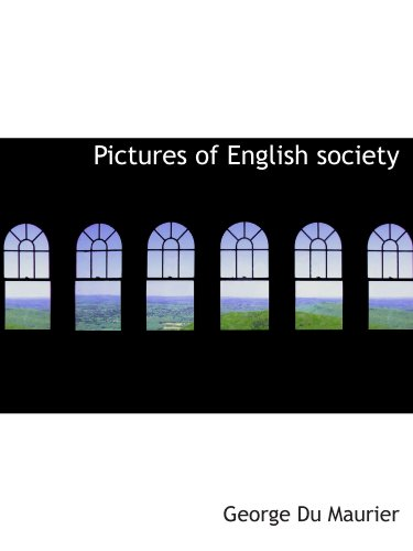 Pictures of English society
