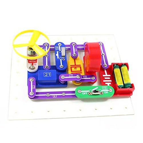Goolsky Elektronik Discovery Kit pädagogische elektrische DIY Schaltung Wissenschaft Experiment Spielzeug