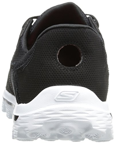 Skechers Go Walk 2 Stance, Scarpe da ginnastica Uomo Nero (Nero/Bianco)