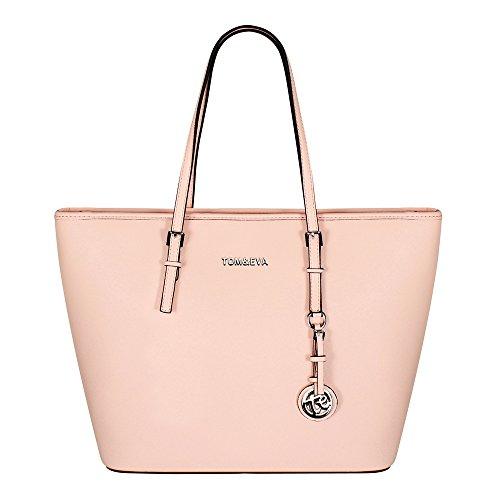 Tom & Eva Damen Tasche 6228F TE-Jet Set Travel Bag Soft Pink (hellrosa) -