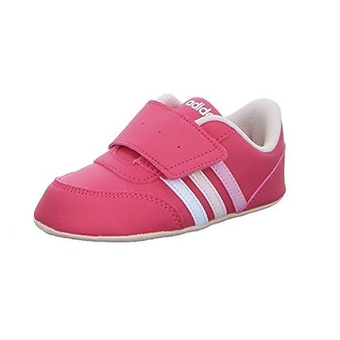 adidas Unisex Baby V Jog Crib Lauflernschuhe, Verschiedene Farben (Supros / Ftwbla / Roshel), 20 EU