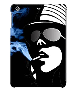 Fuson Smoking Girl Back Case Cover for APPLE IPAD MINI 2 - D4017
