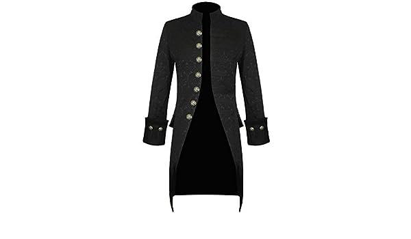 À Fait Veste Noir Leather Star Main Homme La Gothique Nouveau wqPacFg