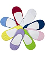 12 Paar Mädchen Füßlinge Zehensocken Ballerina Socken Bunte Farben