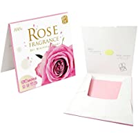 Papel absorbente de aceite facial - Esencia de Rosa Natural - oil control blotting paper -