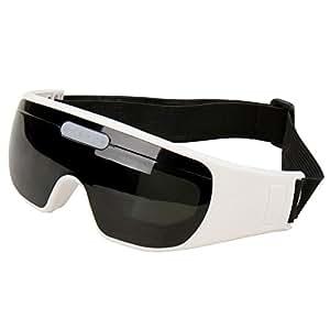 Jago - Lunettes de massage des yeux électrique - 24 capteurs souples - 9 niveaux de massage