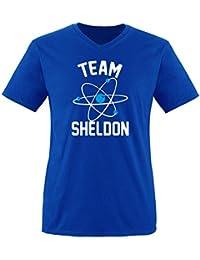 Comedy shirts édition dELUXE-tEAM sHELDON pour homme col en v taille s-xXL 31c5cb64d54b