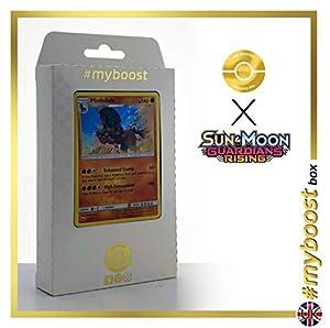 Mudsdale 76/145 Holo - #myboost X Sun & Moon 2 Gardians Rising - Box de 10 Cartas Pokémon Inglesas