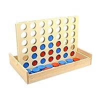 TOYMYTOY-4-gewinnt-Pdagogisches-Spielzeug-Vier-in-einer-Reihe-aus-Holz-Strategiespiele