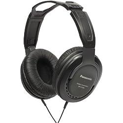 Panasonic RP-HT265E-K Casque fermé avec contrôle du volume intégré Noir (Import Royaume Uni)