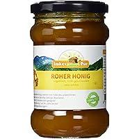 Roher Honig von ImkerPur, ungefiltert, nicht geschleudert oder erhitzt, enthält Blütenpollen, Bienenwachs, Propolis, Bienenbrot und Gelee Royal 400g
