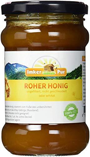 Roher Honig von ImkerPur, ungefiltert