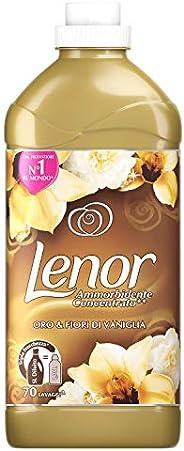 LENOR Ammorbidente Oro & Fiori di Vaniglia, Maxi Formato da 70 Lav