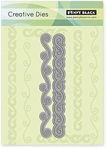 Penny, Coloreee  Nero, 2,5 cm x 5,4 cm, cm, cm, Coloreee  Acciaio-Fustelle Creative-Stampi | vendita di liquidazione  | Negozio famoso  | Per Vincere Elogio Caldo Dai Clienti  cbbdc4