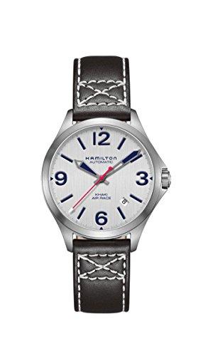Hamilton Reloj de hombre automático 38mm correa de cuero color negro H76225751