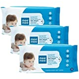 Mee Mee Caring Baby Wet Wipes With Aloe Vera (72 Pcs) (3 Pack)