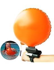 Pootack Bracelet de Sauvetage, Flotteur Gonflable Automatique, Dispositif de sauvetage Portable pour les Enfants, Adultes pour Ski Nautique, Planche à Voile, et autres Sport Nautique