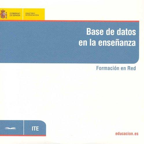 Base de datos en la enseñanza. Formación en red