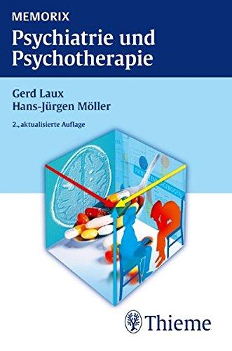 Cover »Memorix Psychiatrie und Psychotherapie«