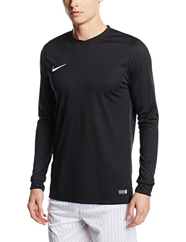 Nike Park VI Jersey LS Maillot Homme, Black/White, X-Large