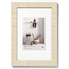Walther design HO130W Home wooden picture frame, 8.25 x 11.75 inch - 21 x 29.7 cm cream white