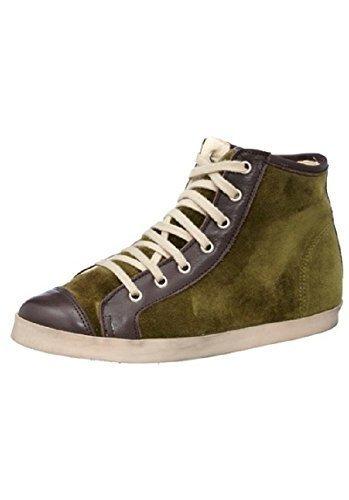 Daim de chaussures en cuir et de textile des best connections Vert - Vert