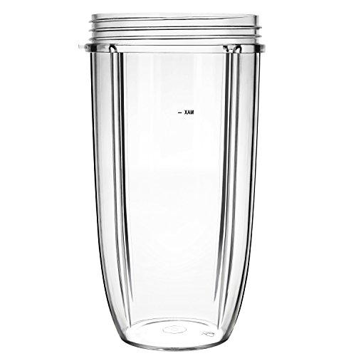 UNIQUEBELLA Ersatzteile für Nutribullet, 32 OZ Kleine Tasse, Cup Entsafter Zubehör für NUTRIBULLET Blender Entsafter