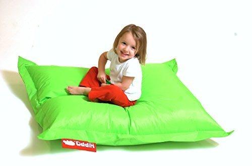 Teens Gaming-stühle Für (Hippo Pygmy groß lime grün wasserabweisend gefüllt Sitzsack Liege Gaming Stuhl)