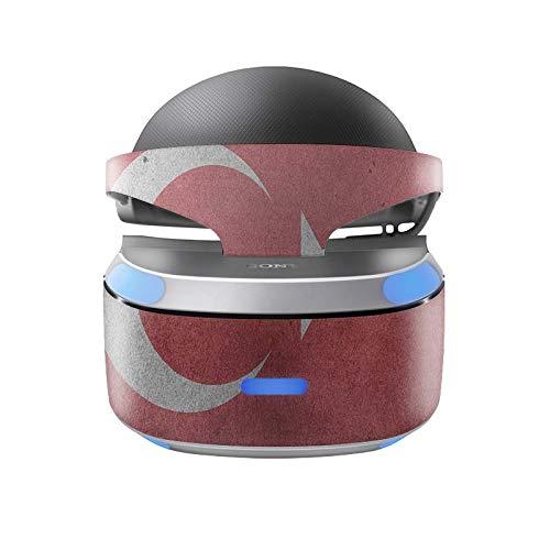 Skins4u Aufkleber Design Schutzfolie Vinyl Skin kompatibel mit Sony PS4 Playstation 4 VR Brille Türkei Vintage