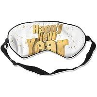 Eye Mask Eyeshade Golden New Year Sleep Mask Blindfold Eyepatch Adjustable Head Strap preisvergleich bei billige-tabletten.eu
