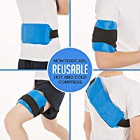 Hehong Ice Pack Schmerzlinderung für Hot & Cold Therapy Wiederverwendbare Heat Wrap oder Cold Pack für Rücken... preisvergleich bei billige-tabletten.eu