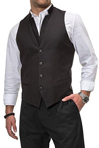 Antony Morato Herren Anzugweste Sakko Herrenanzug Anzug Black