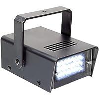 BeamZ 153.275 Negro estroboscopio y luz disco - Accesorio de discoteca (Negro, LED, 24 lámpara(s), Blanco, Corriente alterna, 10 W)