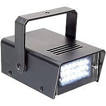 BeamZ 153.275 estroboscopio y luz disco - Accesorio de discoteca (Negro, LED, Color blanco, Corriente alterna)