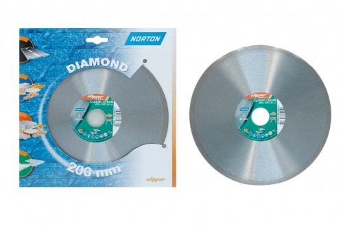 Preisvergleich Produktbild 1 Stück Diamantscheibe NORTON Clipper Classic 200 x 25,4 mm Fliese